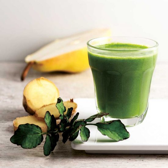 Sweet and healthy green smoothie