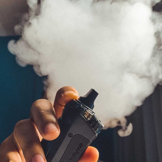 If you don't smoke, don't start vaping while pregnant