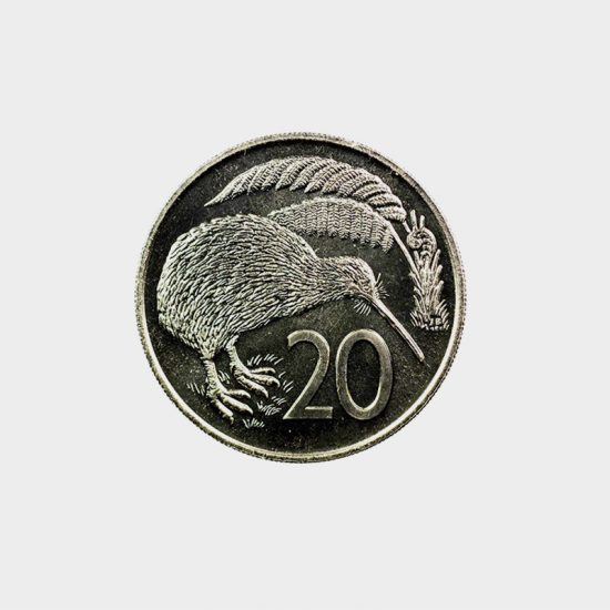 By week 10, your baby weighs as much as a 20 cent coin.
