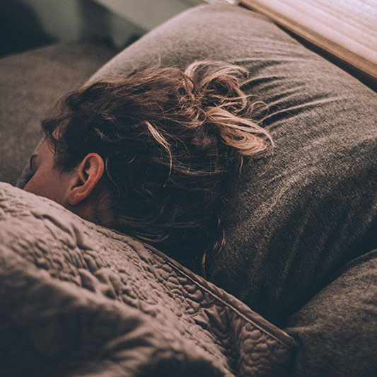 Night sweats can be a symptom of postpartum
