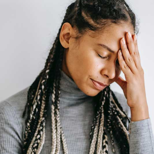 Postnatal depletion is characterised by fatigue and emotions
