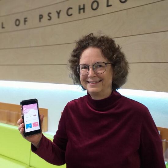 Positively Pregnant app developer Dr Carrie Barber