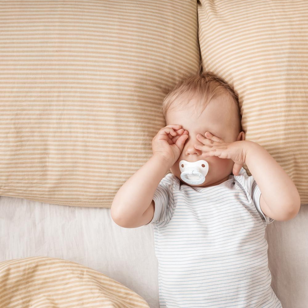 Toddler ready for sleep