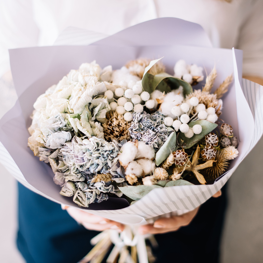 Dried flowers for miscarriage